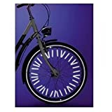 Bike Wheel Spoke Reflector Bicycle Mount Cycling Wheel Rim Spoke Tube Strip Reflector Warning Light by Einfachheit 24PCS/set