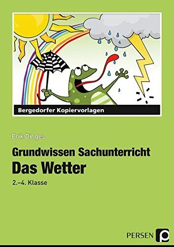 Das Wetter: 2. und 4. Klasse Grundwissen Sachunterricht: Amazon.de ...
