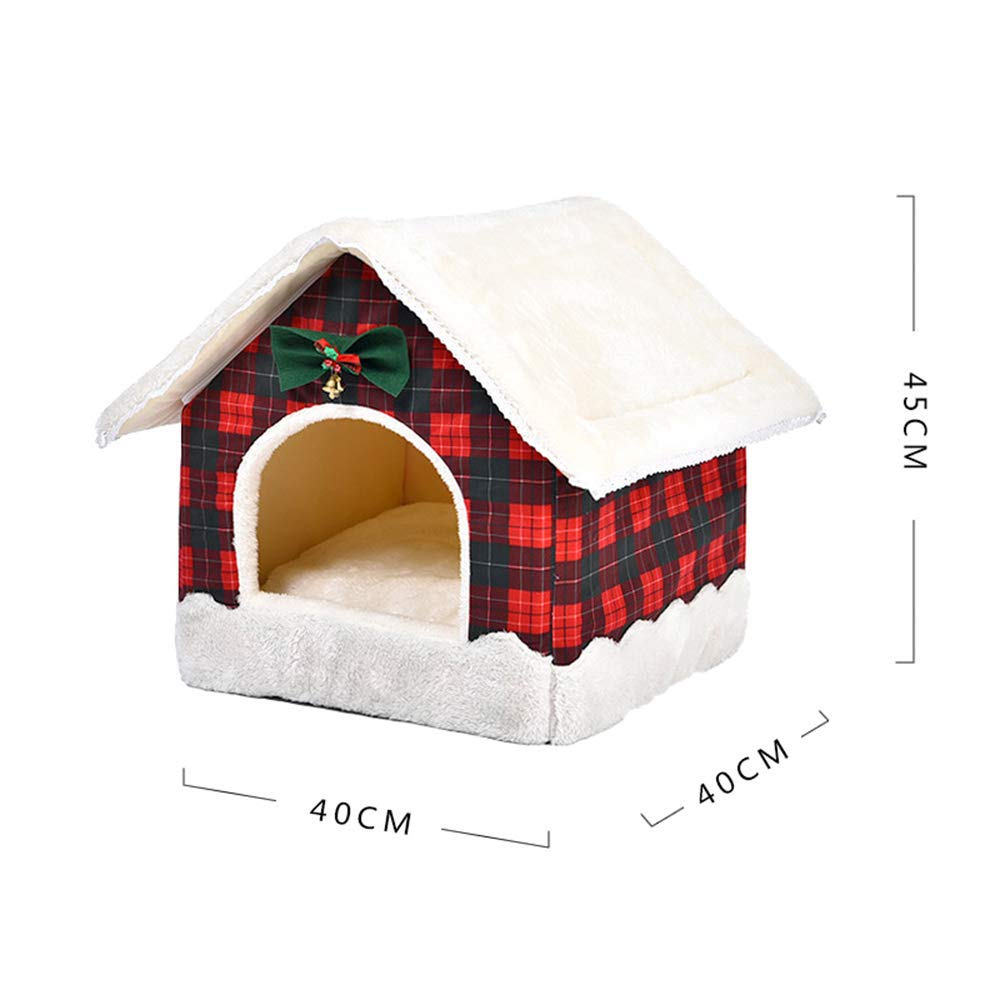 Stopffiy La Arena para Gatos Perrera de Invierno cálido Invierno Suministros para Gatos Lindos Suministros creativos para Mascotas (Color : A): Amazon.es: ...