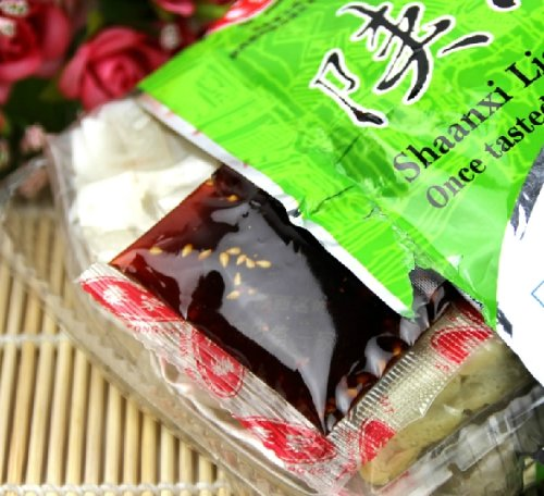 Qyz@ Chinese Fashion Delicious Leisure Snacks Shaanxi Liangpi (168g*2)