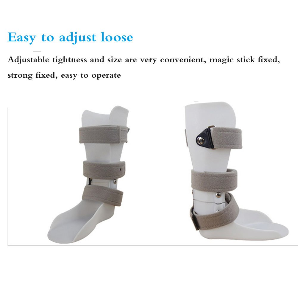 Ankle Ankle Sprain Fracture Protective Device for Children Foot Orthosis,White,R by NACHEN (Image #4)