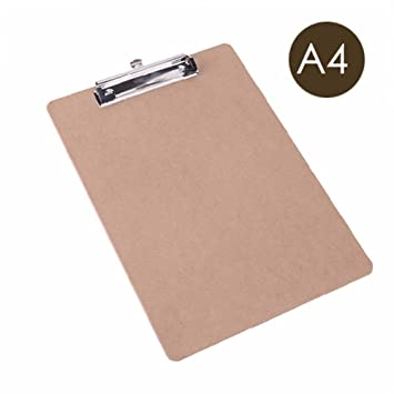 clipboard office paper holder clip. Case Folder File Pouch Literature Holder Paper Card Writing Board Clip Woody Pad Clipboard Office A