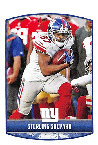2018 Panini NFL Stickers Collection #248 Sterling Shepard New York Giants Official Football ()