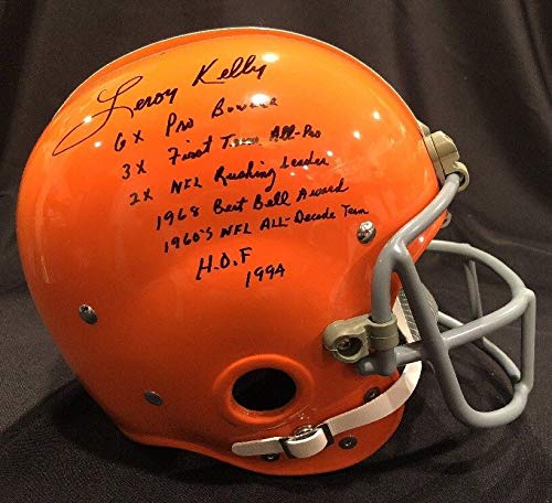 6b68ee00f Leroy Kelly Browns Autograph, Browns Leroy Kelly Autograph, Leroy ...