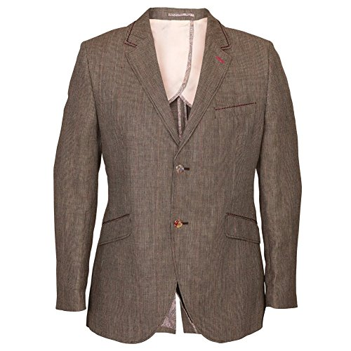 Holland Esquire SB2 Hunting Hairline Check Jacket 46 Beige Beige