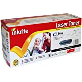 Inkrite Remanufactured Toner Cartridge Replacement for HP CB436A Black