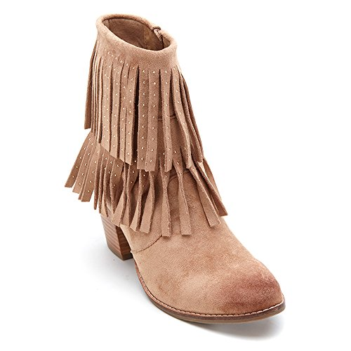 Coconuts by Matisse Flint Women US 6 Nude Ankle Boot SZTJD