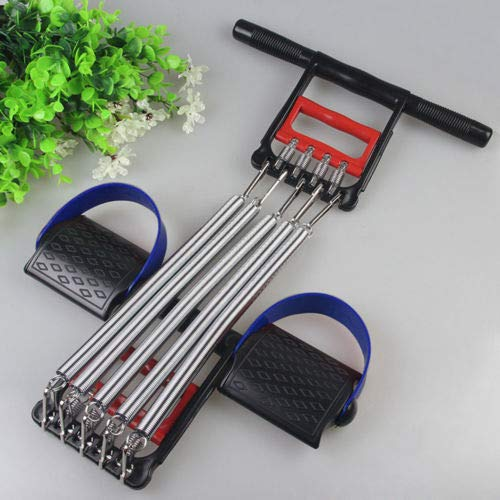 Price comparison product image 1 Pc of Chest Expander Exercise Resistance Hand Grip Foot Ring Workout Removable Springs