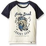 Lucky Brand Little Boys' Toddler Johnny Bear Tee, Turtle Dove, 4T