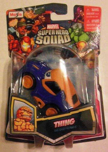 Marvel Super Hero Squad THING Squad Cars Die-Cast Vehicle (Thing Superhero)