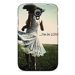 Anti-scratch And Shatterproof Im In Love Phone Case For Galaxy S4/ High Quality Tpu Case