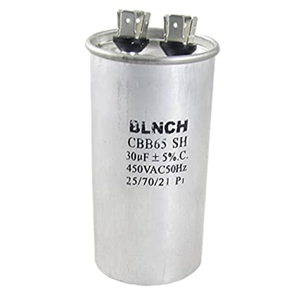 CBB65 SH aire acondicionado condensador de marcha ronda 30uF 450VAC