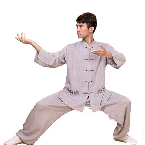XIAOLY Traje Tradicional Chino De Taiji, Uniforme De Kung Fu ...