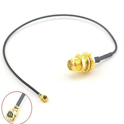 RP-SMA female to ipx U.fl MINI PCI 40cm IPEX Pigtail Antenna WIFI