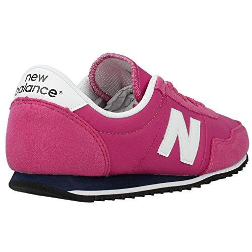 New Balance - Zapatos de cordones para mujer Rosa rosa 36