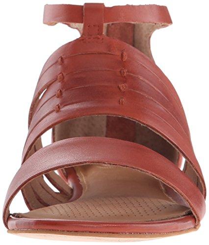 Como Sprint Leather Brick Dress Sandal Women's Corso Brushed CqBw1dxd