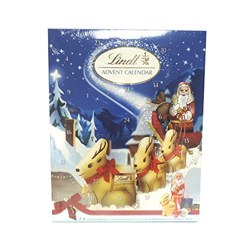 Lindt Advent Calendar 160G Case Of 2