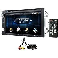 Power Acoustik PD-651B 6.5 DVD/CD In Dash Car Monitor+Bluetooth/USB/SD+Camera