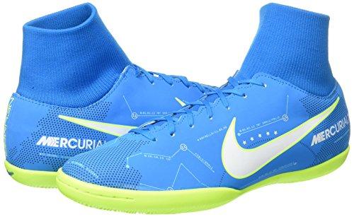 Zapatos De Entrenamiento Nike Lady Air Vivus De Cuero Azul Orbit White 400