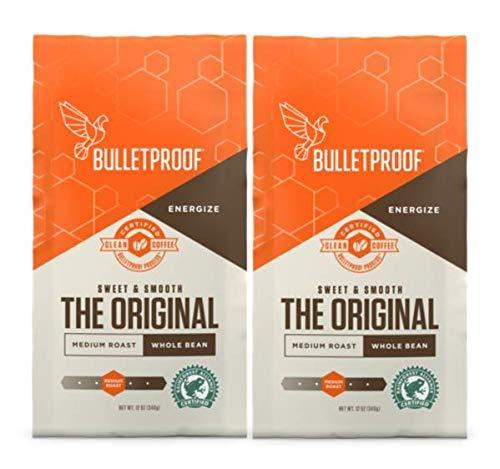 Bulletproof Whole Bean 12oz (Pack of 2) ()