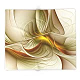 Society6 Abstract With Colors Of Precious Metals, Fractal Art 88'' x 104'' Blanket