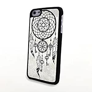 Generic Unusual Dream Catcher Painting Carrying Case for PC Phone Cases fit for iPhone 5C Cases Plastic Cover Matte Shell Hard Protector Clear and Thin