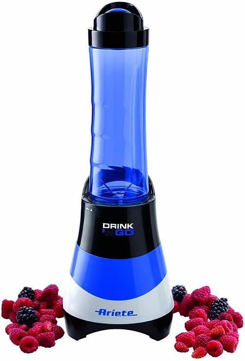 Ariete Drink N Go - Licuadora multifunción, 300 W, color azul ...