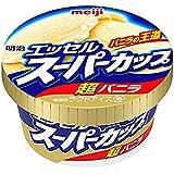 明治 エッセルスーパーカップ超バニラ 200ml×24個 【冷凍】(1ケース)