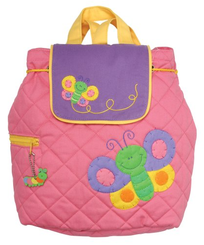 Stephen Joseph Butterfly Quilted Kid's Backpack by Stephen Joseph