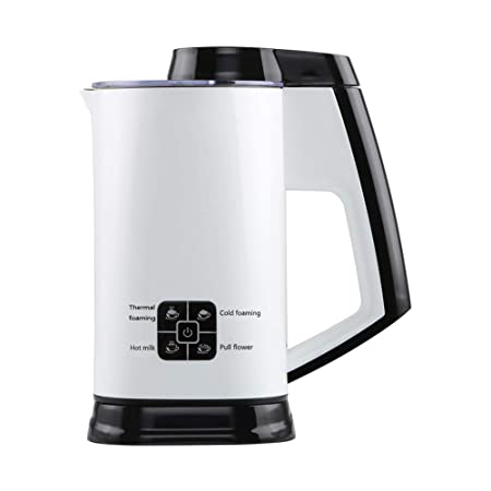 Espumador de leche automático eléctrico y frío, calentador de ...