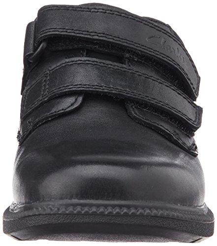 Clarks Deaton Inf - Zapatos para niños Black Leather