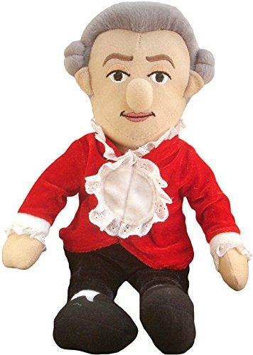 The Unemployed Philosophers Guild Wolfgang Amadeus Mozart - Little Thinker - Plush Doll
