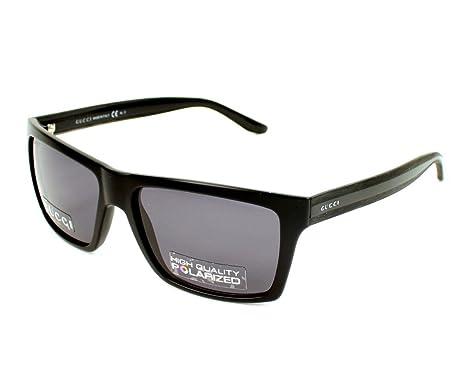 e057d1f5a0d Gucci Sunglasses GG 1013  S 52R3H Acetate plastic Black Grey polarized   Amazon.co.uk  Clothing