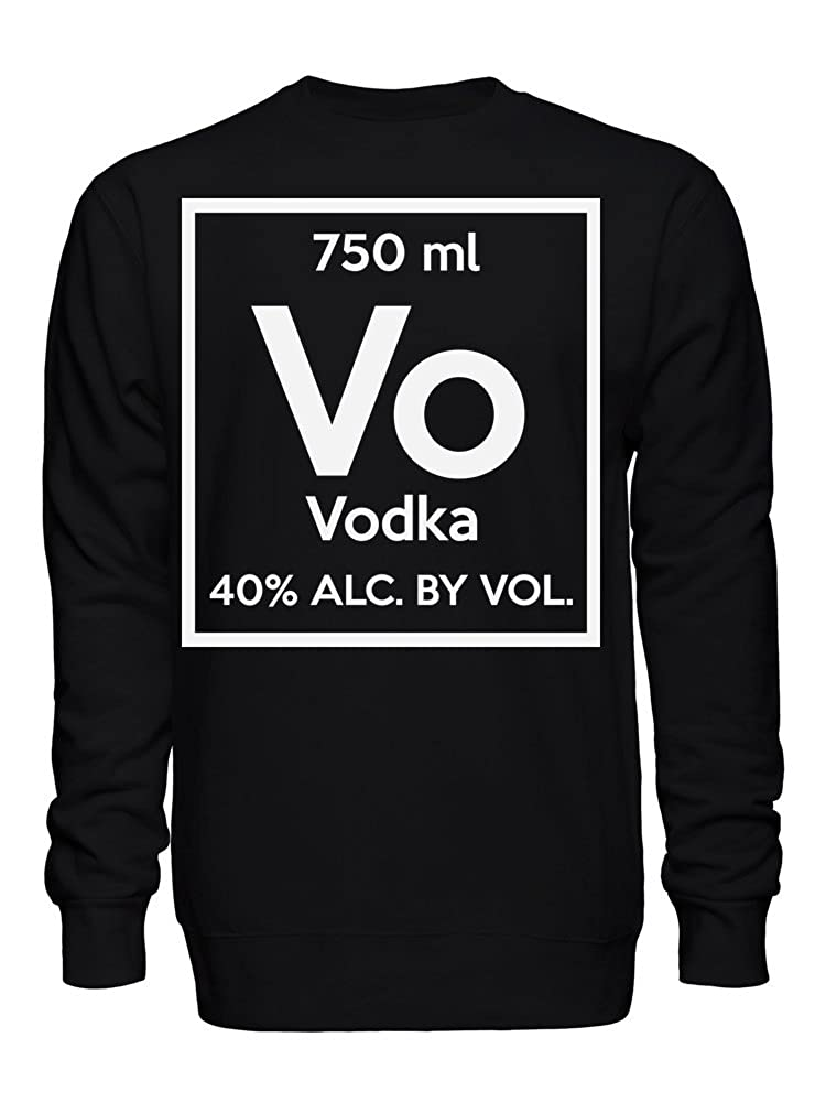 Vodka Chemistry Element Vo 750 ml 40/% Unisex Crew Neck Sweatshirt