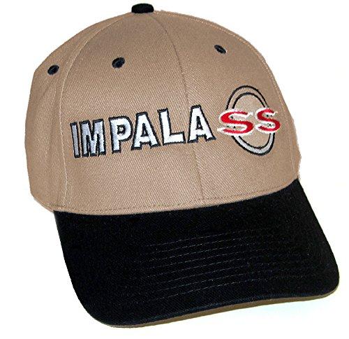 Gregs Automotive Impala SS Hat Cap Khaki//Black Includes Racing Decal