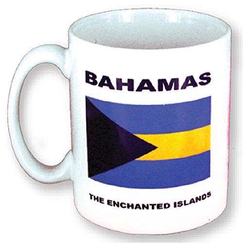 Mug - Bahamas Gift and Souvenir - Flag of Bahamas - Ceramic Coffee Mug and Tea Cup 11 Ounces