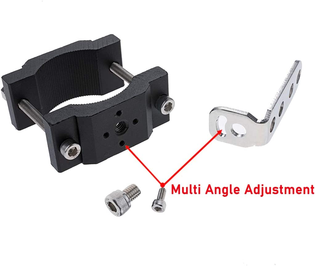 Lightronic Motorcycle Bicycle Mount Bracket 1.2 Inch Car Bull Bar Holder Clamp Offroad Tube Clamps Mounting Brackets for LED Light bar Work Lights