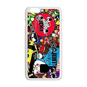 Happy Cartoon Hot Seller Stylish Hard Case For Iphone 6 Plus