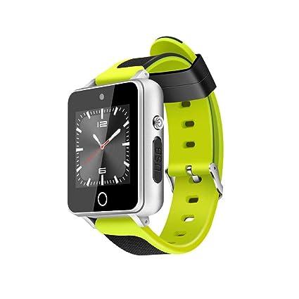 Womdee S9 - Reloj Inteligente Deportivo Impermeable para Android/iOS 1 GB + 16 GB Compatible con Tarjeta SIM TF con Ranura Bluetooth 4.0 3G GPS, WiFi, ...