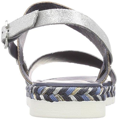28631 Femme Marco Bride Navy Bleu Tozzi Comb Sandales arrière Premio xEqqSwYp