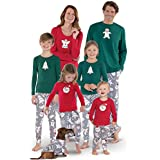 PajamaGram Color Me Cookies Matching Family Pajamas, Red, Women 1X (16-18)