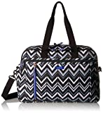 Vera Bradley Women's Lighten up Weekender Travel Bag, Lotus Chevron
