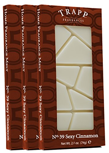 Trapp Home Fragrance Melt, No. 39 Sexy Cinnamon, 2.6-Ounce, 3-Pack