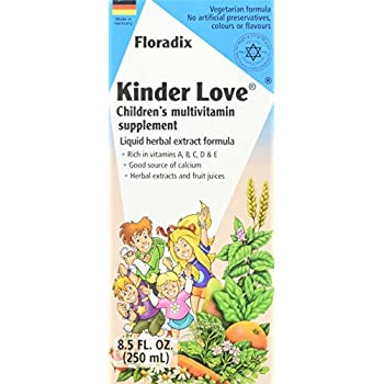 Salus-Haus - Floradix Kinder Love Childrens Multivitamin - 8.5 oz