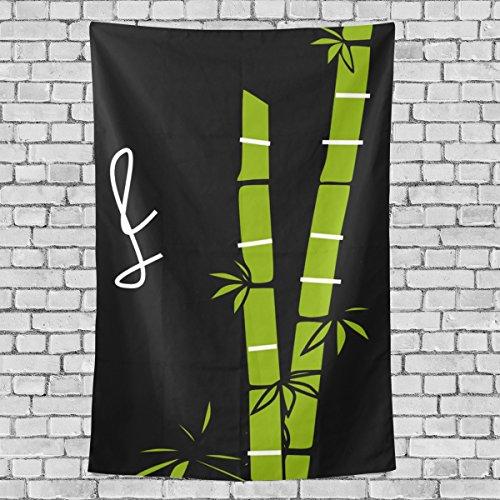 wihve Ilustración bambú caña de azúcar, Art Deco, Multi 01, 1