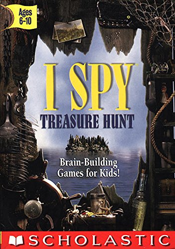 I Spy - Treasure Hunt w/I SPY Book & Bonus Mini CD Age Rating:6 - 10