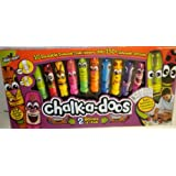 Chalk -A - Doos Reusable Sidewalk Chalk Holders and 150 + Sidewalk Tattoos!