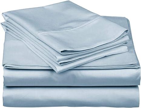 1000 Thread Count Egyptian Cotton Premium Bedding Items All Size Egyptian Blue