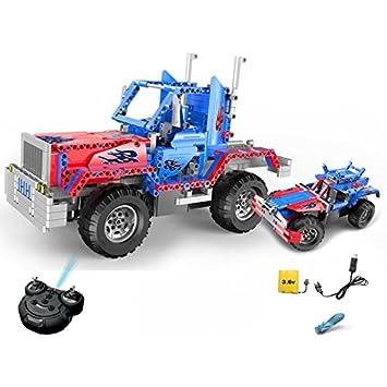 Coche Rc Optimus Prime para Construir DIY 531 Piezas (2 ...