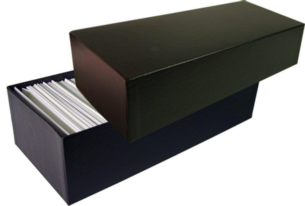 Glassine de enveloppe Boîte de Glassine rangement pour  5 enveloppes – Peut contenir Plus de 1 000 enveloppes Parchemin de couleur 4f92cf